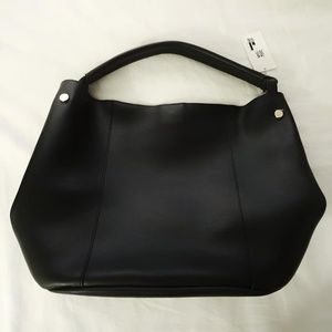 A New Day NWT Black Large Bucket Hobo Tote Purse